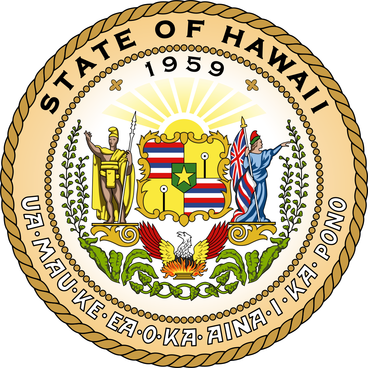 Hawaii Department of Public Safety (DOC) Logo